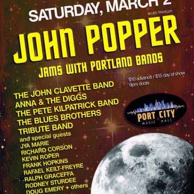 F.O.G. Festival Night 2 - John Popper Jams with Portland