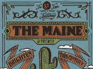 The Maine w/ A Rocket to the Moon, This Century and Brighten