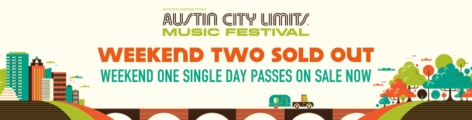 ACL Weekend 1 Single Day Passes