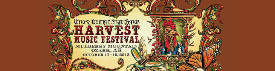 Yonder Mountain String Band Harvest Festival